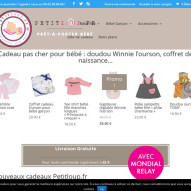 Winnie l'ourson sur la boutique Petitloup