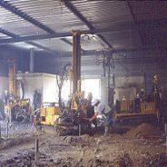 chantier de pieux ouest à Tours