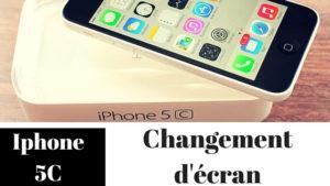 Iphone 5C achat écran
