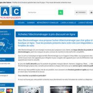 La vente d'appareil électroménager en Suisse