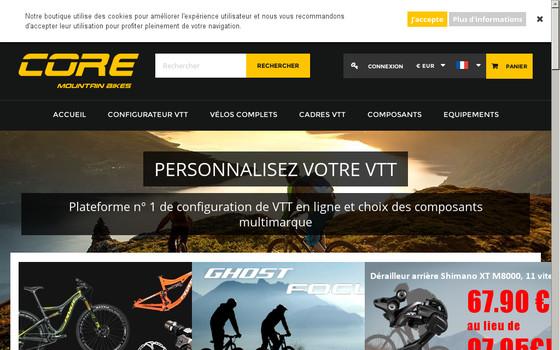 boutique de vtt sur internet