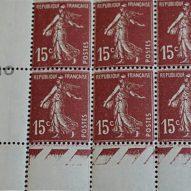 Des timbres variétés de tous les pays